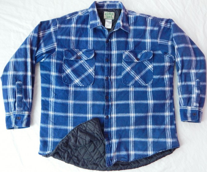 Mens Flannel Shirt   Quilted Flannel Shirt   Ll Bean Plaid Shirts