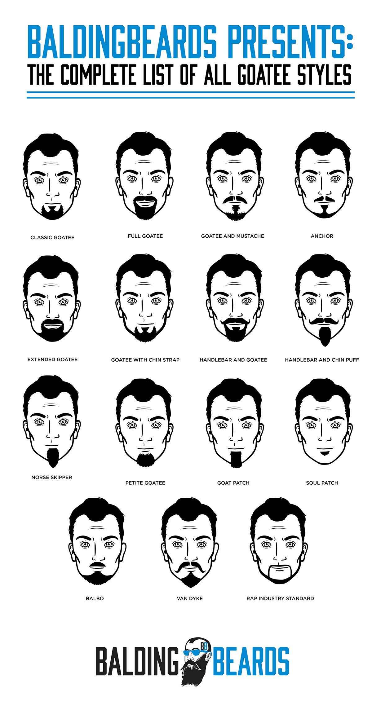 Mens Goatee | Mens Hairstyle and Beard | Mens Goatees