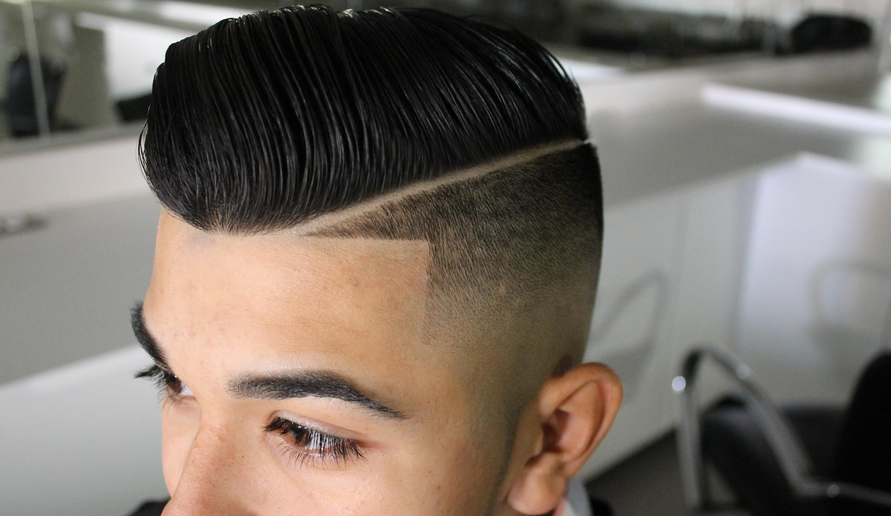 Mens Hairstyles and What to Ask For | Comb Over Haircut | How Much Pomade Should I Use