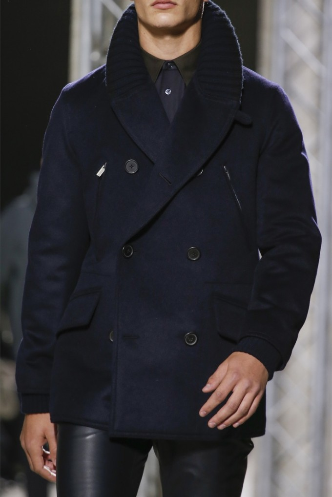 Mens Long Black Overcoat   Double Breasted Trench Coat Mens   Mens Overcoats