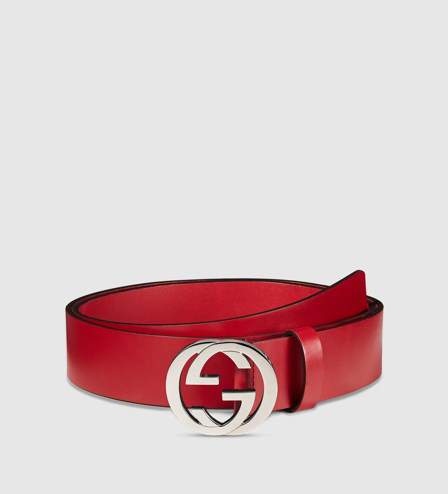 Mens Louis Vuitton Belt | Findi Belt | Red Gucci Belt
