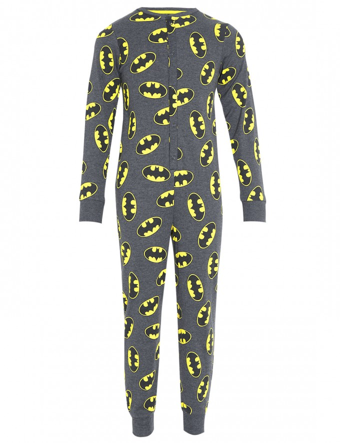 Mens Onesie Costume | Batman Onesie | Batman Footies