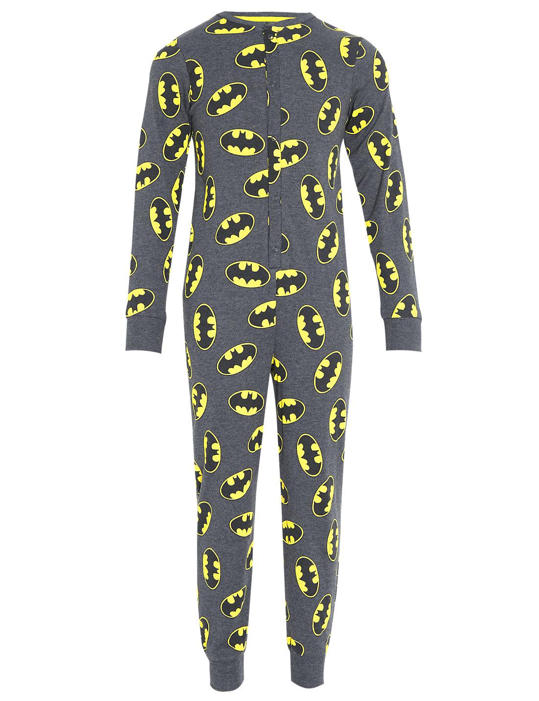 Mens Onesie Costume | Batman Onesie | Batman Footies