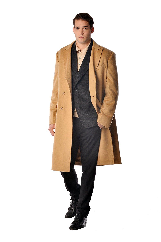 Mens Overcoats | Army Trench Coat | Harris Tweed Overcoat Mens