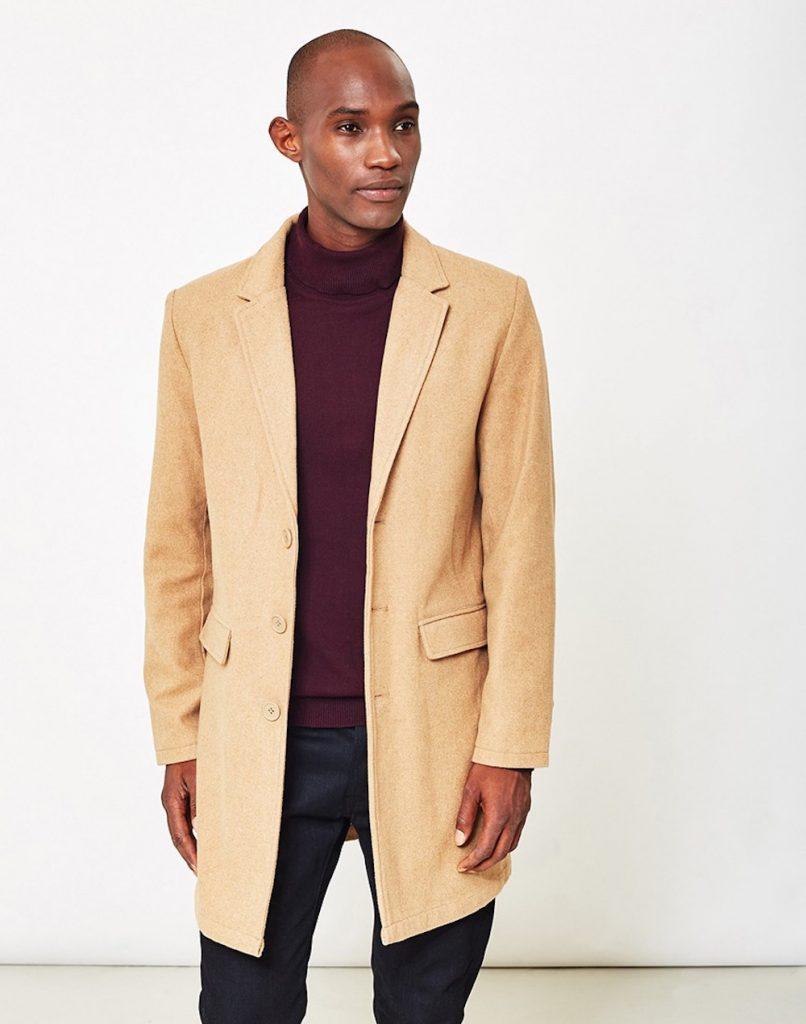 Mens Overcoats | Covert Coat | Vintage Mens Overcoat