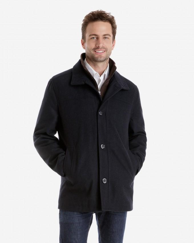 Mens Overcoats | Mens Grey Overcoat | Full Length Mens Overcoat