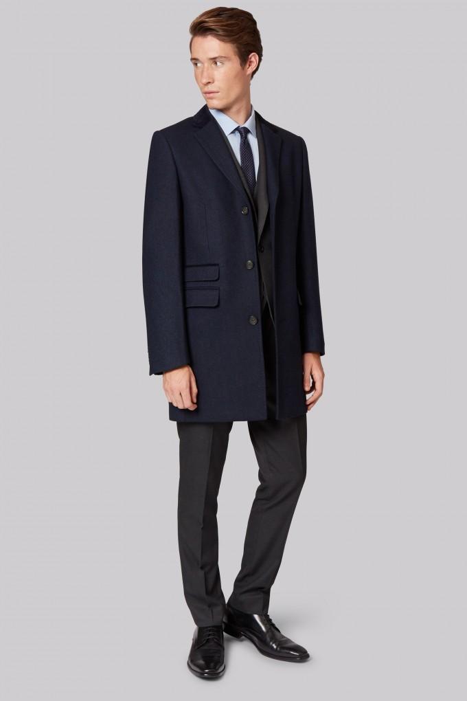 Mens Overcoats | Mens Short Trench Coat | Mens Classic Overcoat
