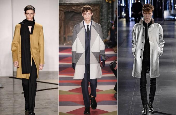 Mens Overcoats | Mens Tan Trench Coat | Mens Leather Overcoat
