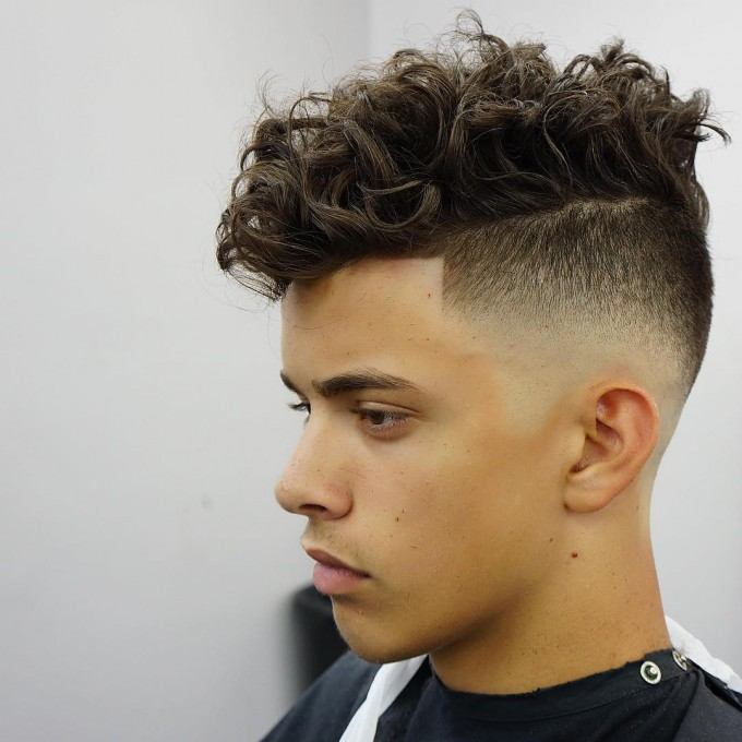 Mens Popular Haircuts | Cool Mens Hairstyles | Haircuts For Men With Curly Hair