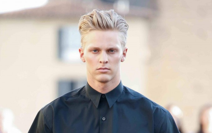 Mens Quiff   Mens Parted Hair Styles   Hairstyles For Men Pompadour