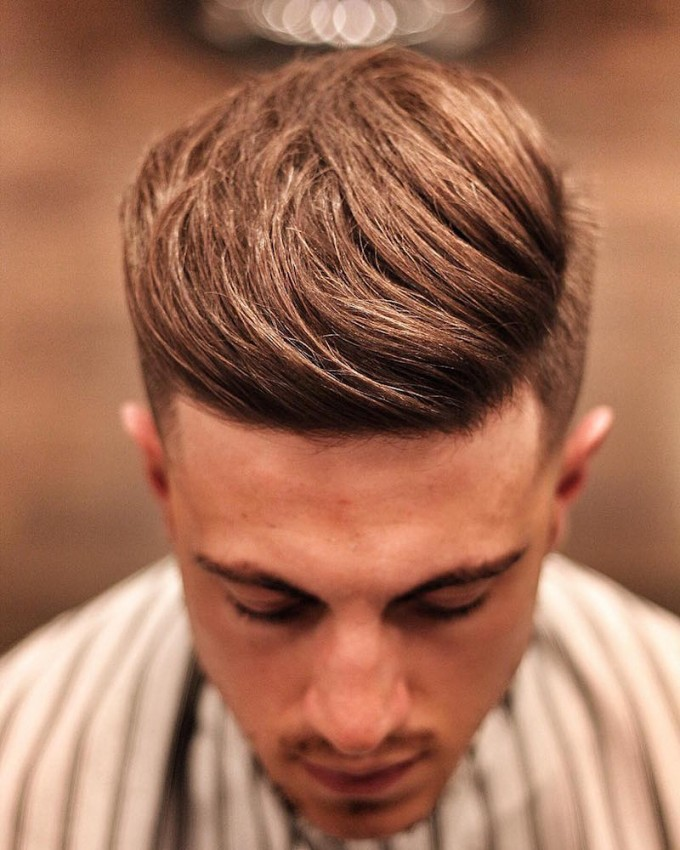 Mens Quiff | Mens Parted Hair Styles | Modern Quiff Hairstyle
