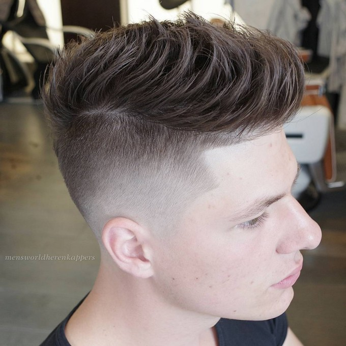 Mens Quiff | Mens Parted Hair Styles | Textured Mens Hairstyles