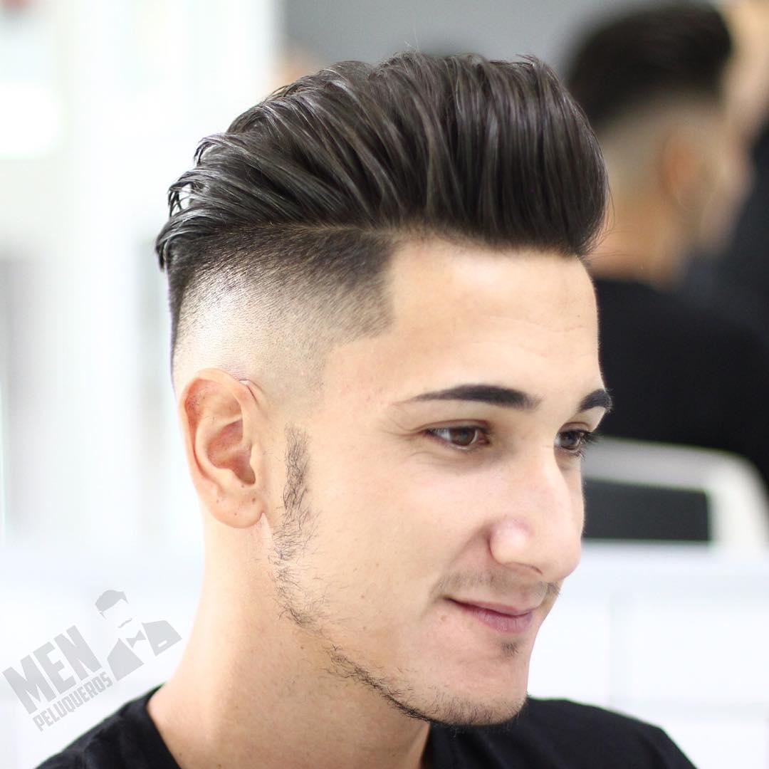 Mens Quiff | Pomade Hair Style | Glue on Hair Piece