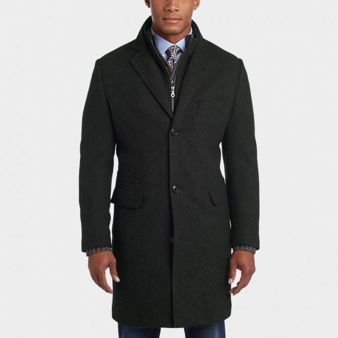 Mens Quilted Overcoats | Types Of Coats Mens | Mens Overcoats