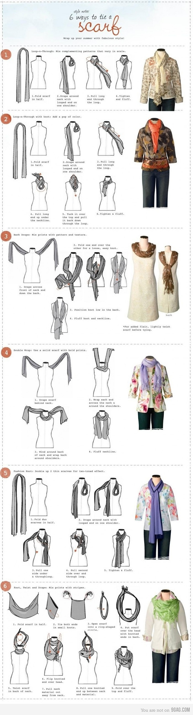 Mens Scarf Knots | Scarf Knots | French Scarfs