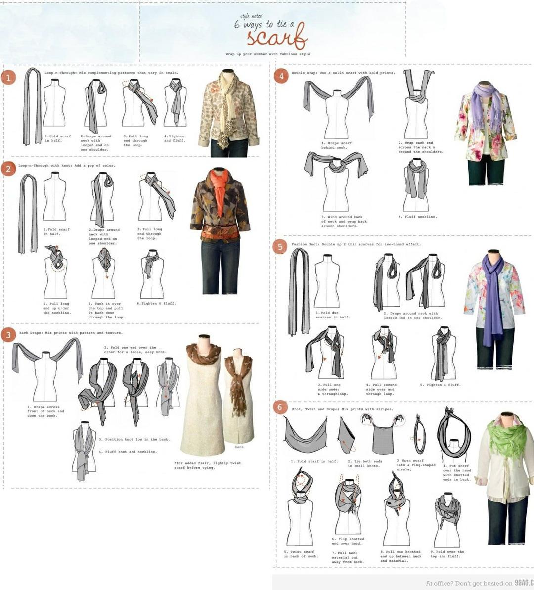 Mens Scarf Styles | Scarf Knots | Hermes Silk Tie