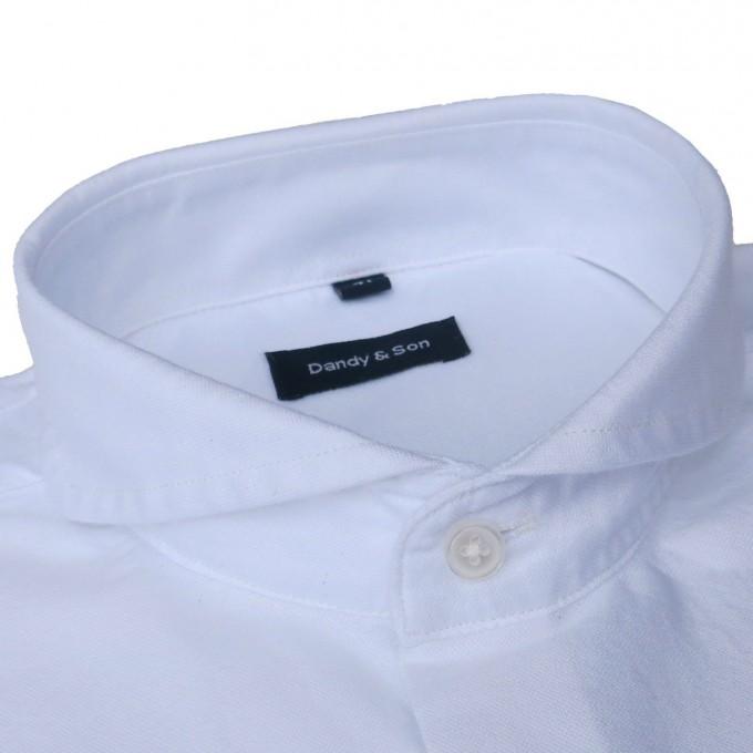 Mens Shirt Collars   Extreme Spread Collar Dress Shirts   Cutaway Collar