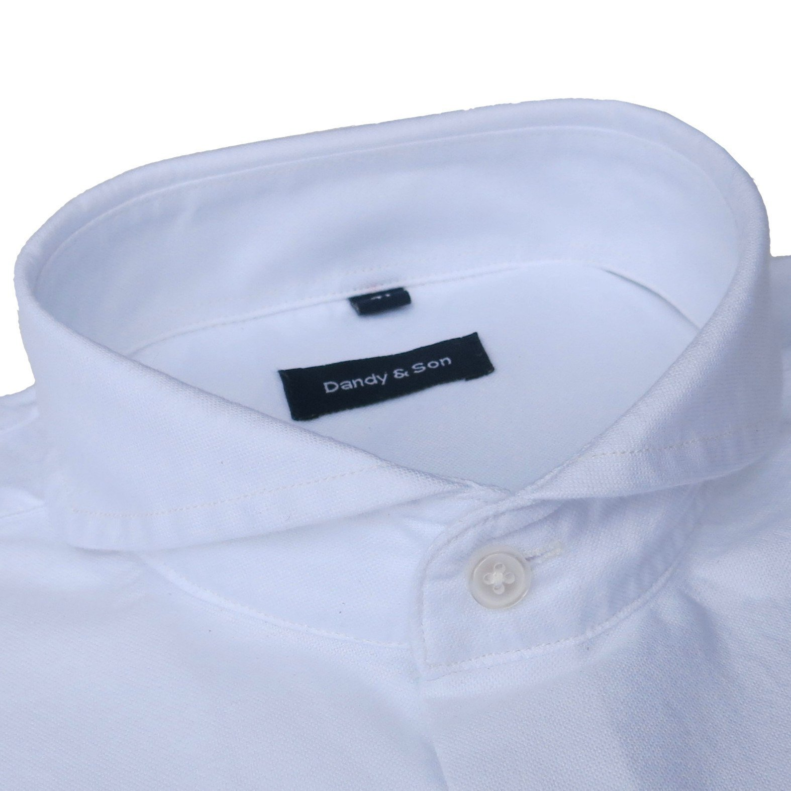 Mens Shirt Collars | Extreme Spread Collar Dress Shirts | Cutaway Collar
