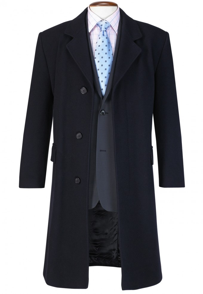 Mens Topcoats | Mens Overcoats | Long Trench Coat Men