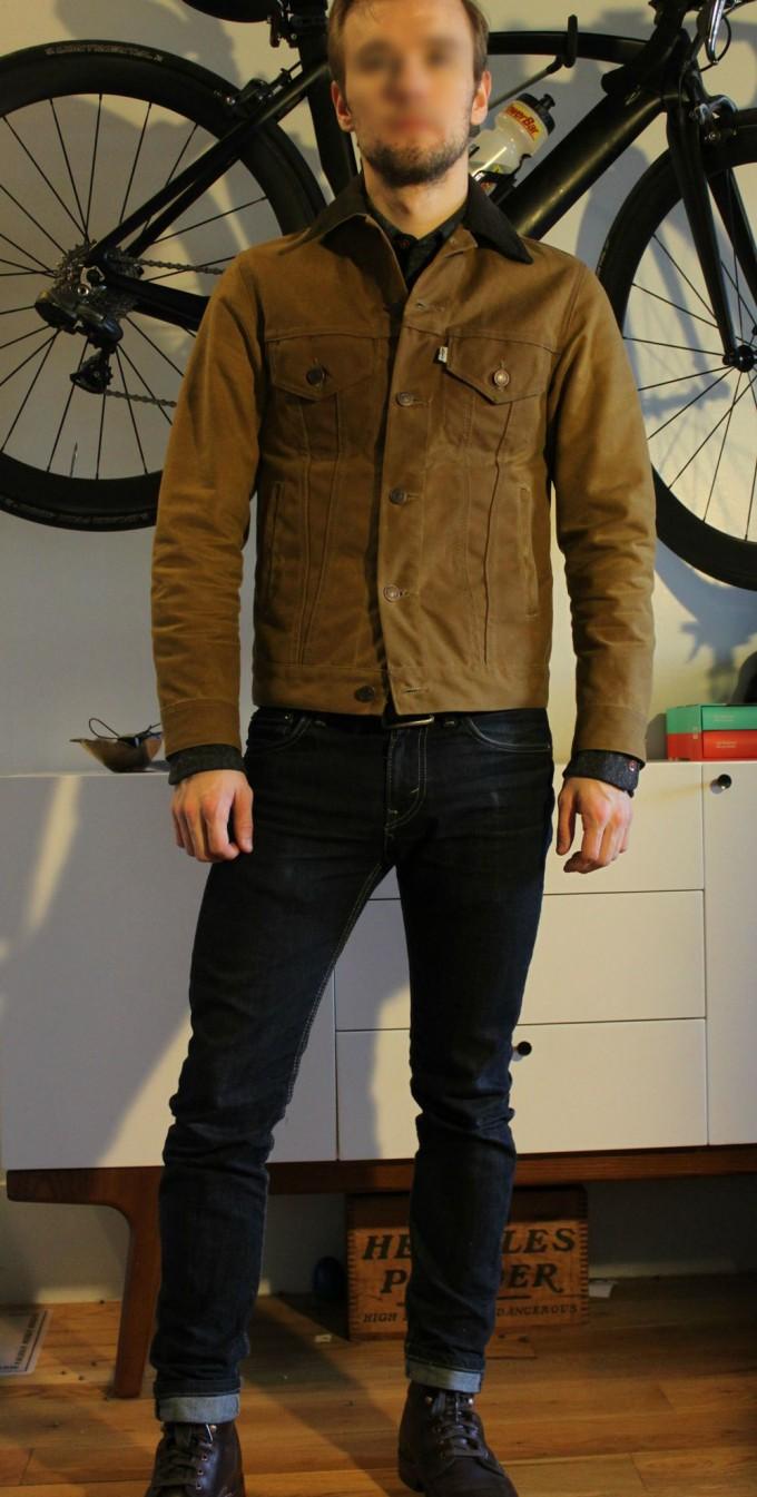 Mens Waxed Coat | Waxed Trucker Jacket | Orvis Field Coat