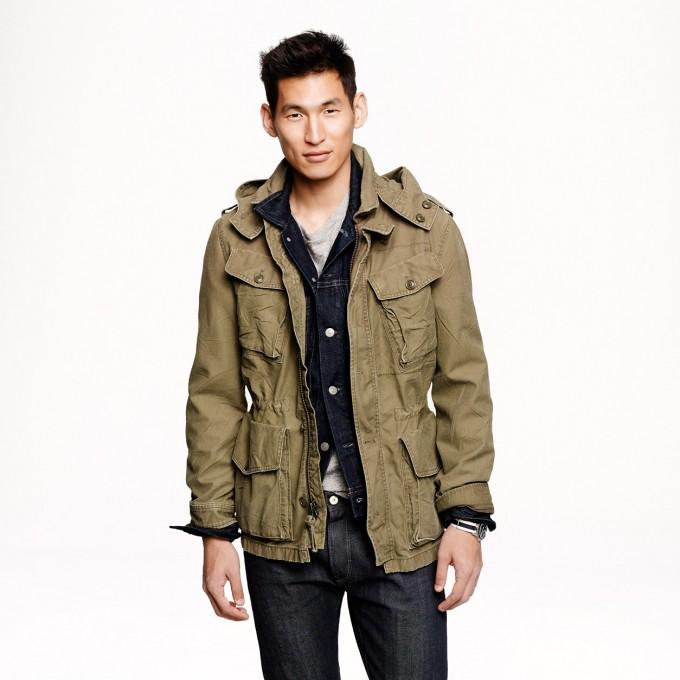 Mens Waxed Cotton Jacket | Waxed Canvas Jackets | Orvis Heritage Field Coat