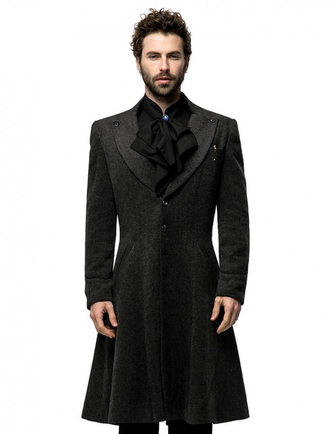 Mens Wool Overcoat | Cheap Pea Coats Mens | Mens Overcoats