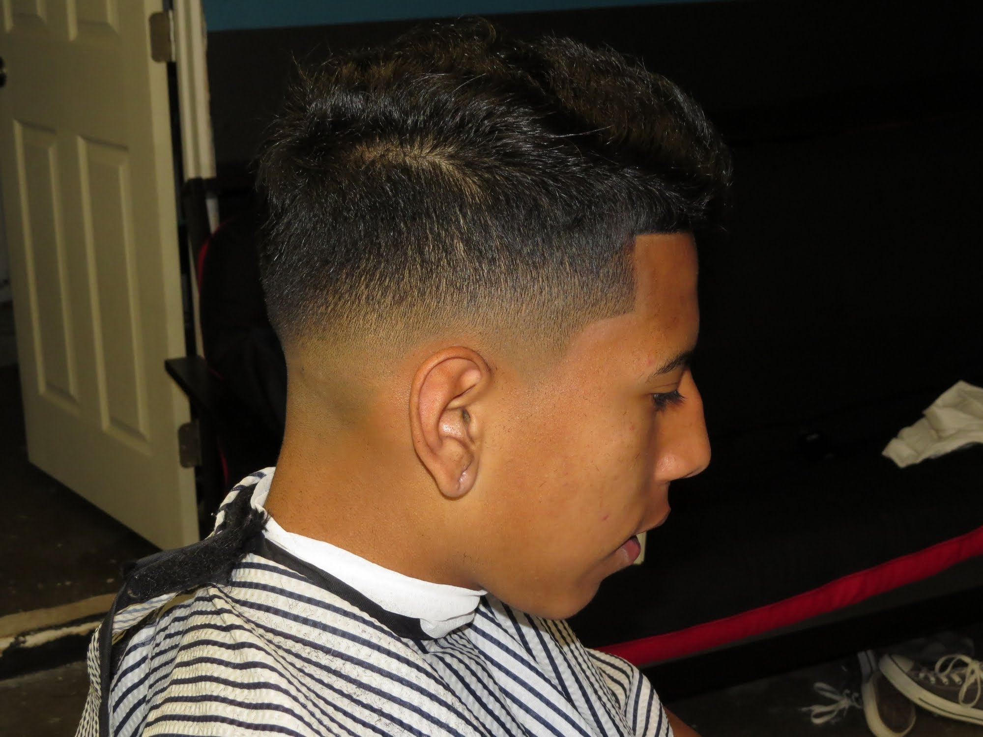 Mid Fade Haircut | Bald Fade | Mens Tapered Haircuts