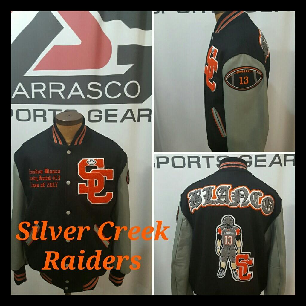 Mitchell and Ness Varsity Jacket | Raider Starter Jackets | Raiders Varsity Jacket