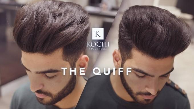 Modern Quiff Hairstyle | Mens Quiff | Mens Quiff