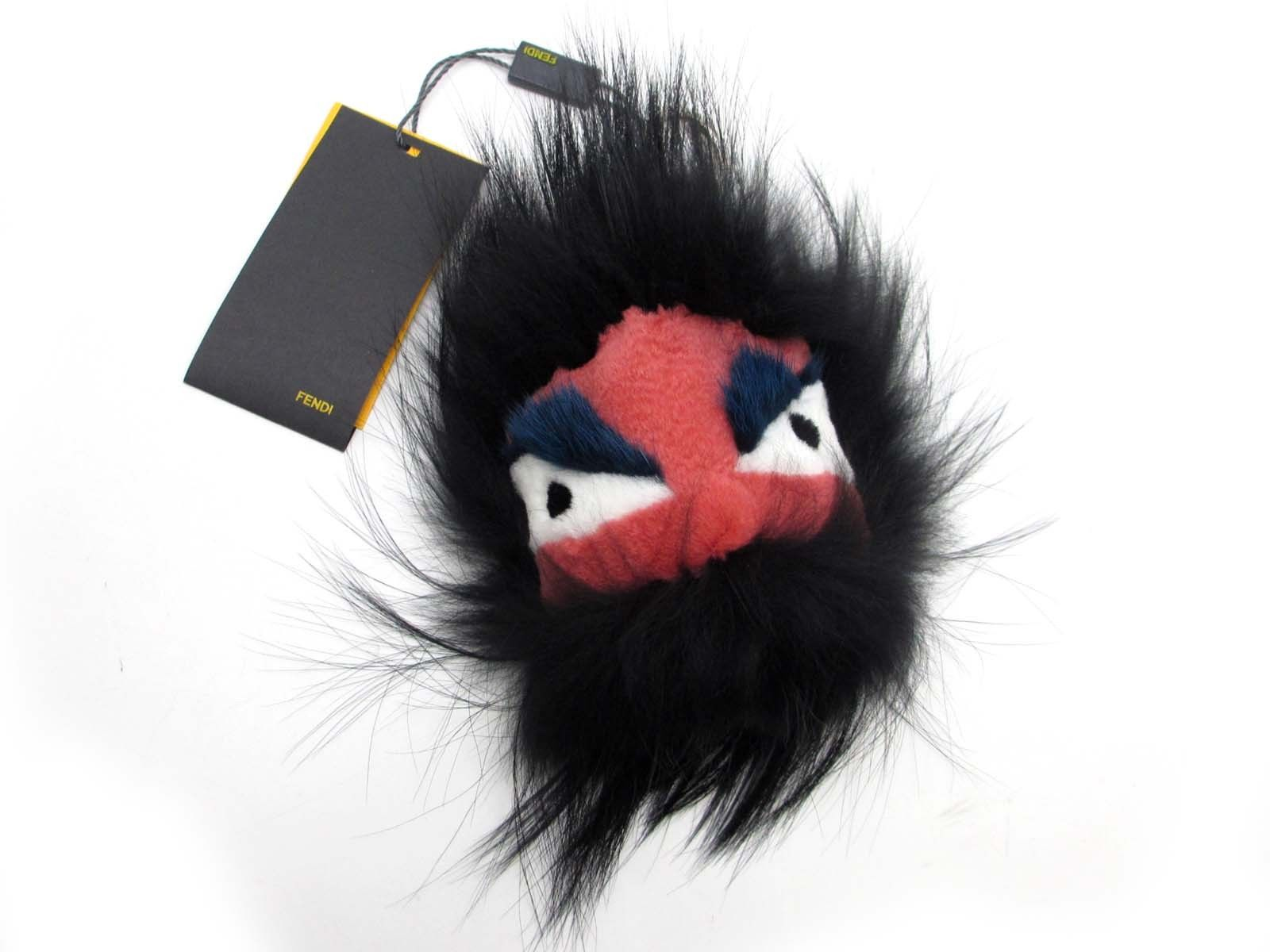 Monster Key Chain | Fluffy Ball Keychain | Fendi Fur Monster
