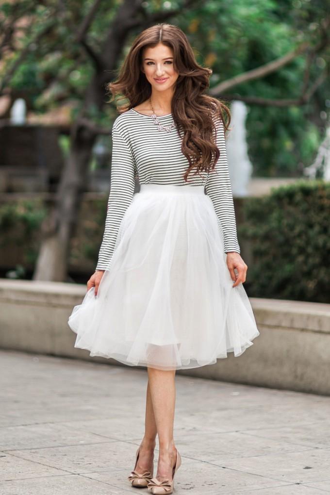 Navy Tulle Skirt   Tulle Midi Skirt   Tulle Skirt Women