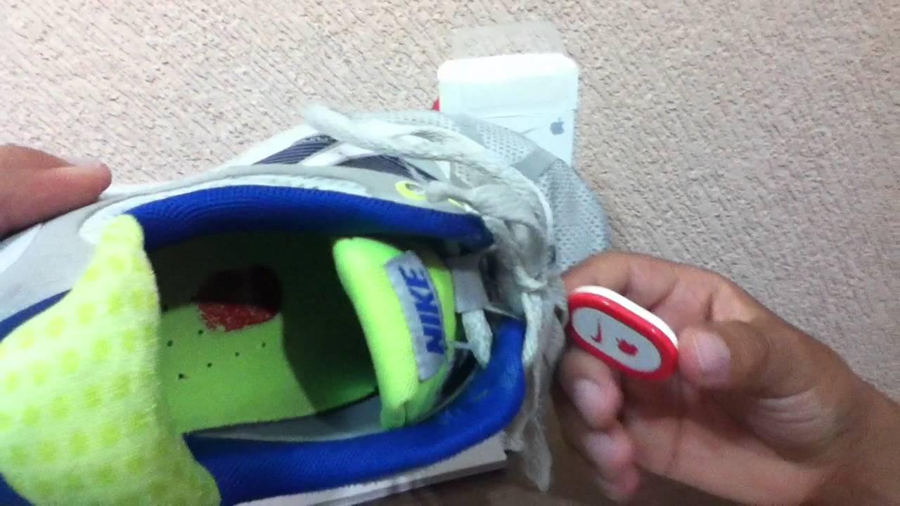 Nike Shoe Sensor App | Nike Running Device | Nike Sensor