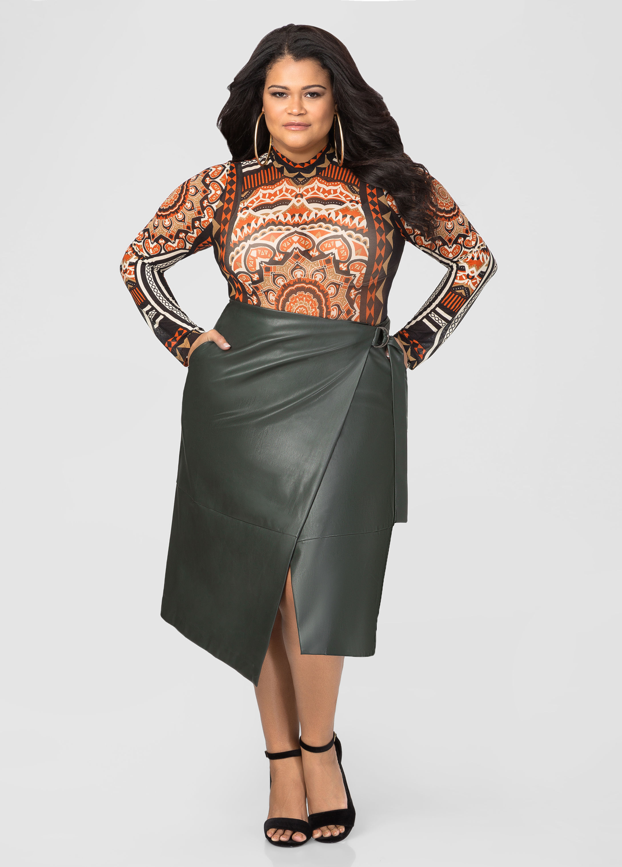 Nordstrom Leather Skirt | Faux Leather Skirt | Faux Leather Bodycon Skirt