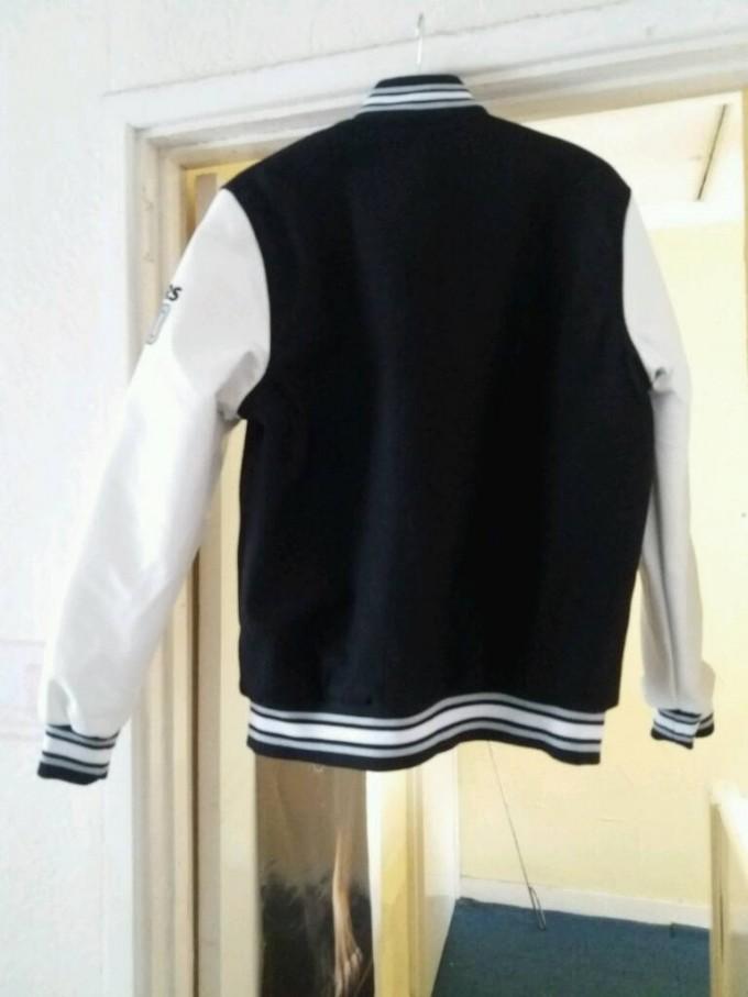 Oakland Raider Merchandise | Raiders Varsity Jacket | Raiders Satin Starter Jacket