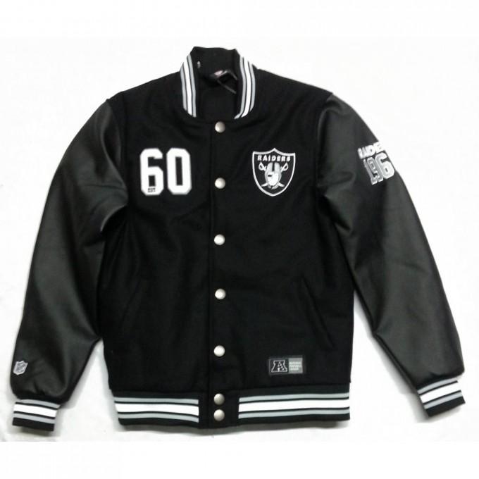Oakland Raider Store | Raiders Letterman Jacket | Oakland Raiders Coat