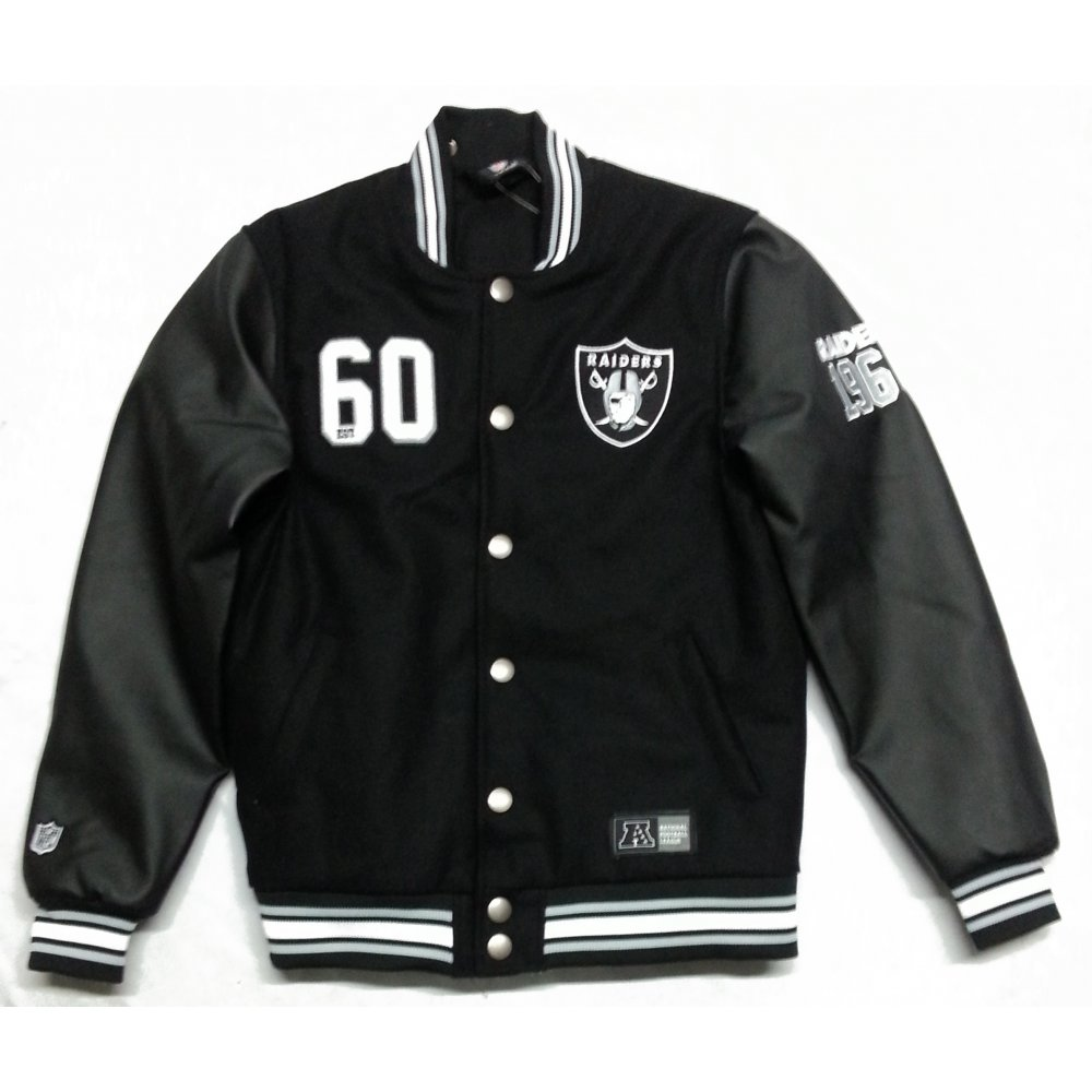 Oakland Raider Store | Raiders Letterman Jacket | Oakland Raiders Coat