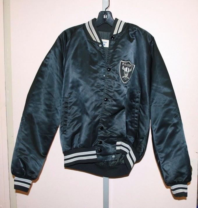 Oakland Raiders Varsity Jacket   Raiders Letterman Jacket   Raiders Nfl Jacket
