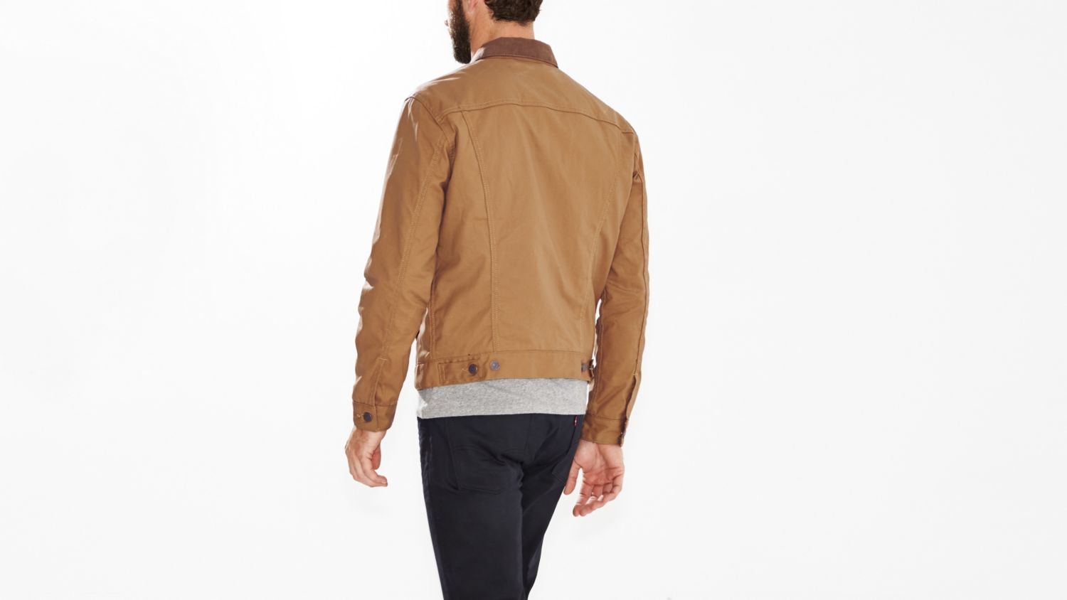 Oiled Jacket | Waxed Trucker Jacket | Waxed Chore Coat