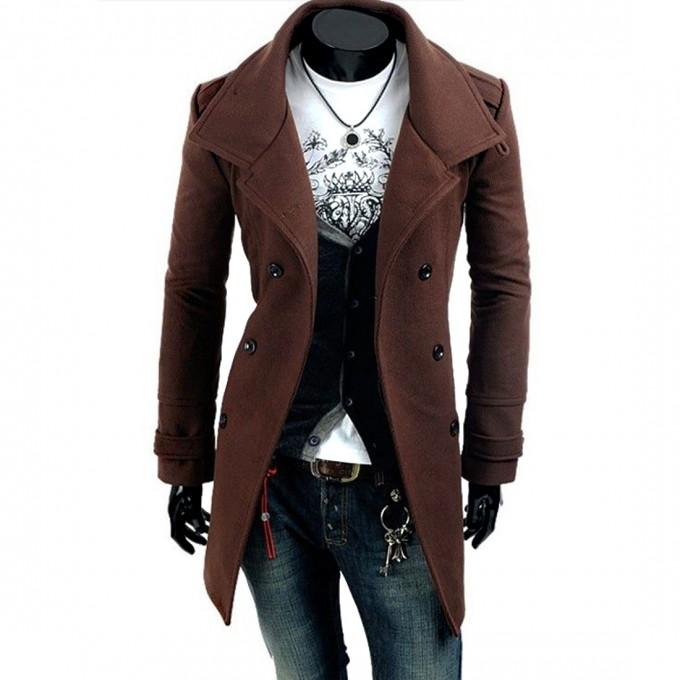 Olive Trench Coat Mens | Mens Overcoats | Mens Overcoats Wool