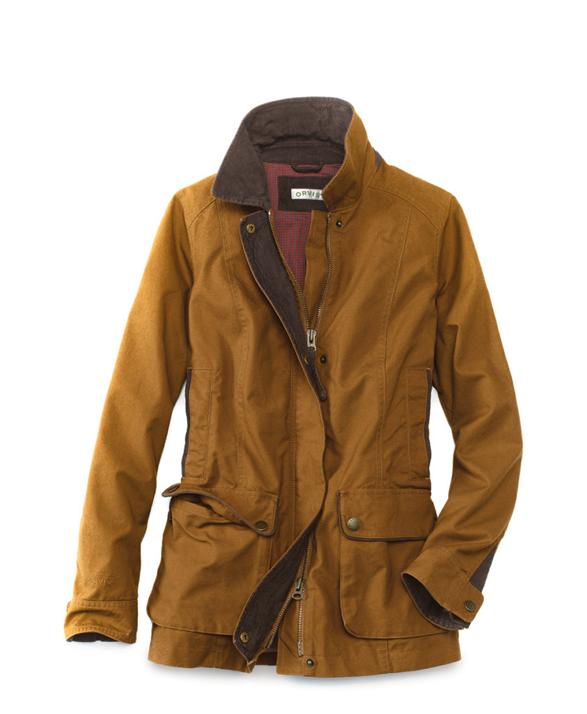 Orvis Heritage Field Coat | Waxed Blazer | Mens Cotton Canvas Jacket