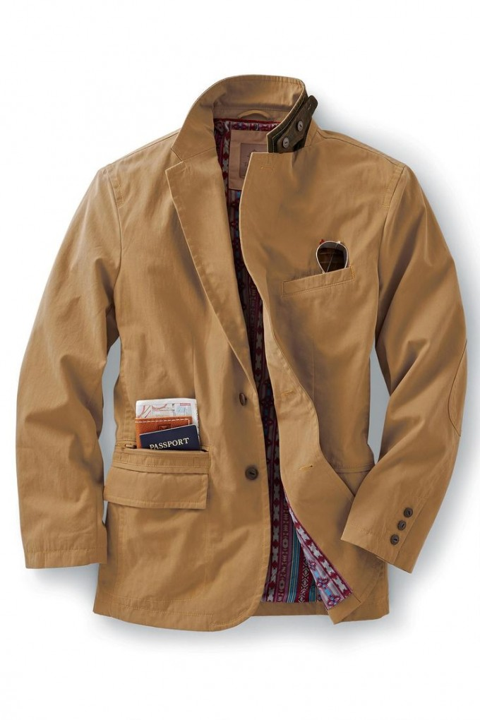 Orvis Heritage Field Coat | Waxed Coat Mens | Lightweight Waxed Cotton Jacket