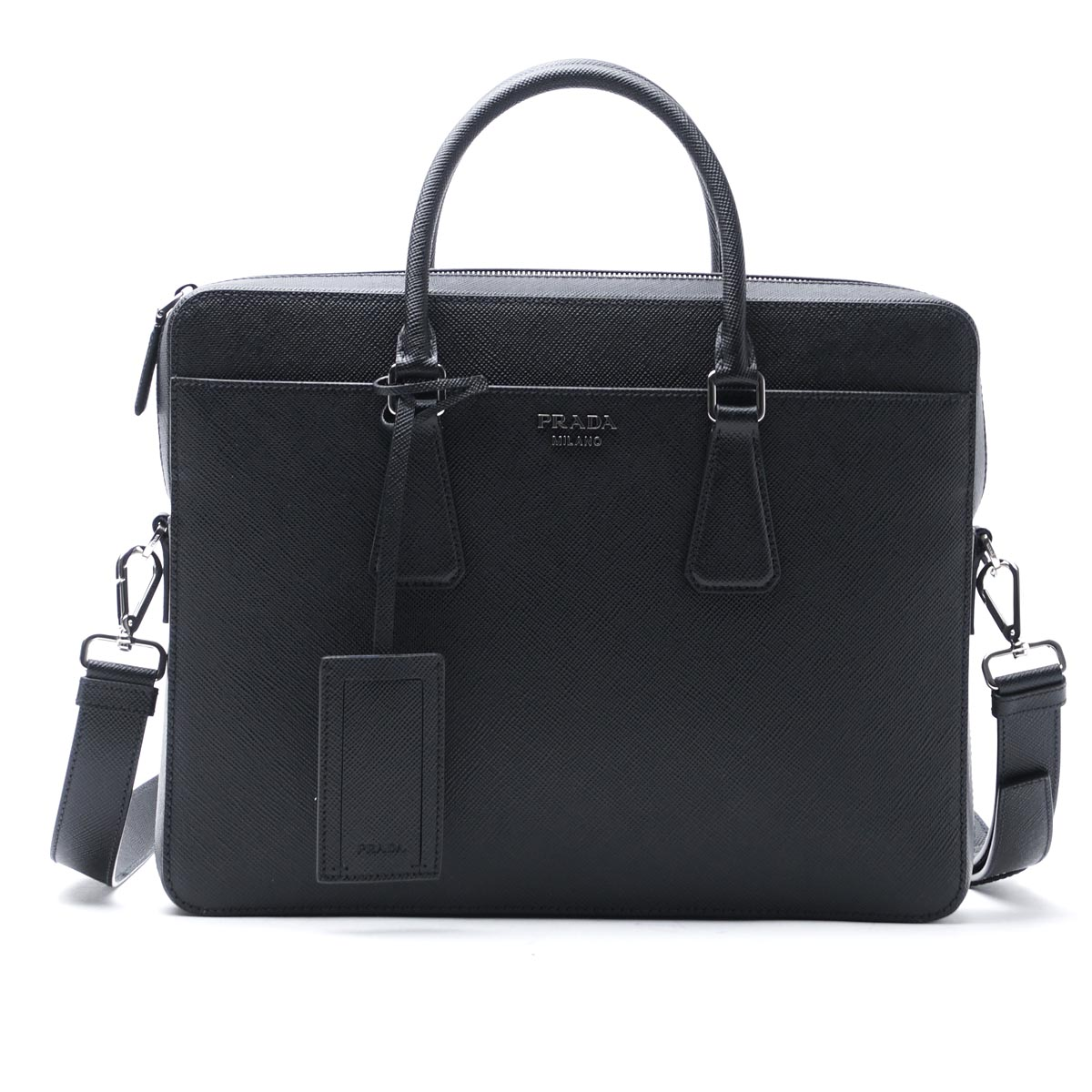 Ostrich Leather Briefcase | Prada Briefcase | Prada Backpack Men
