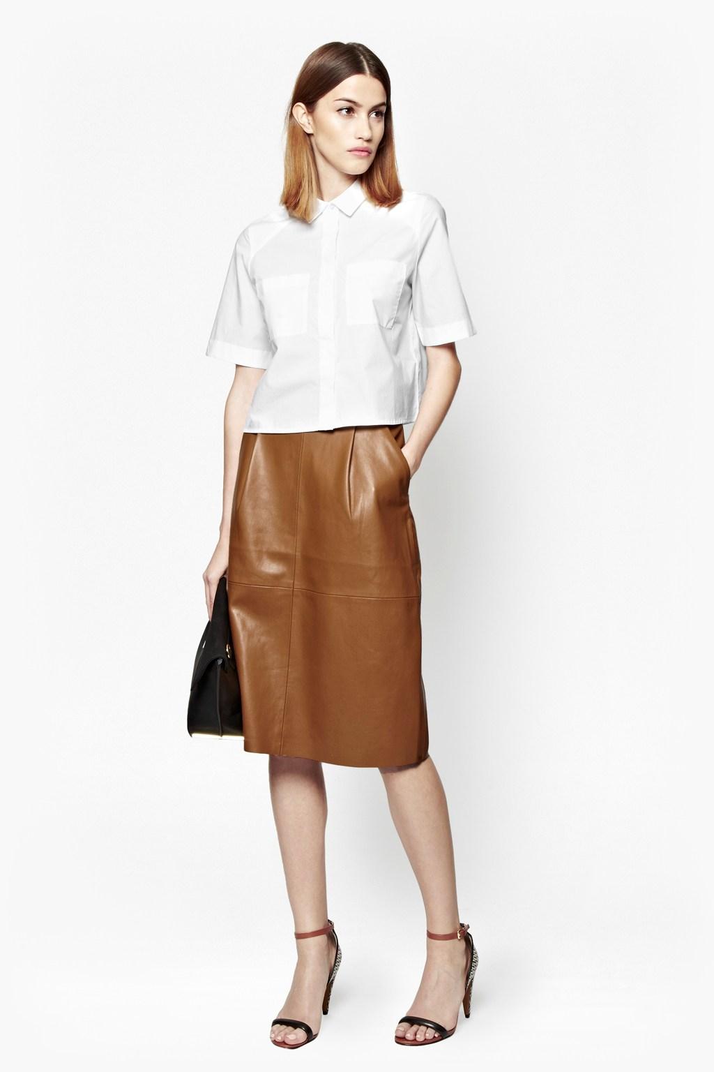 Pastel Pvc Skirt | J Crew Pleated Skirt | Faux Leather Skirt