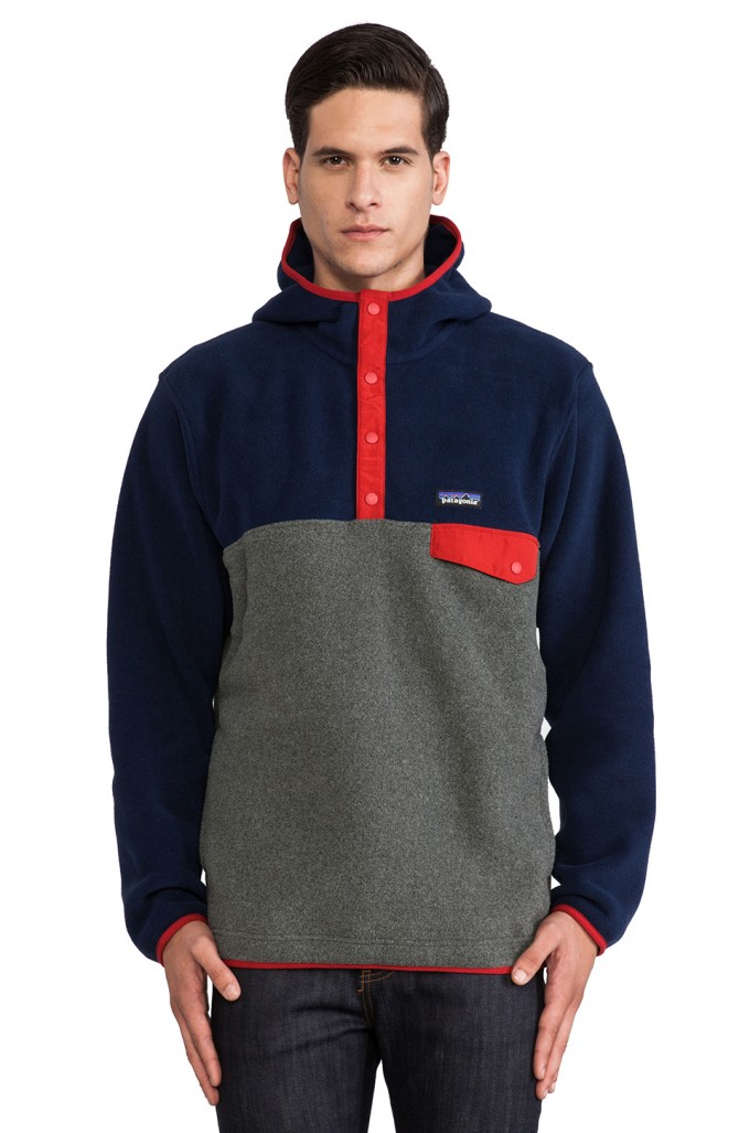 Patagonia Mens Synchilla Snap T Pullover | Patagonia Lightweight Synchilla Snap T Fleece Pullover | Patagonia Synchilla