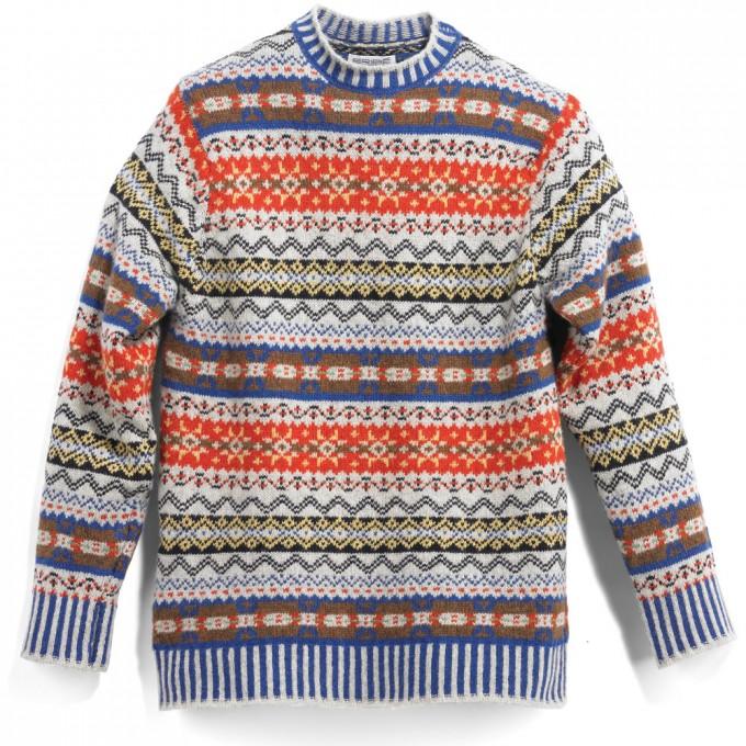 Patterned Sweaters Men   Fair Isle Sweater   Fair Island Sweater