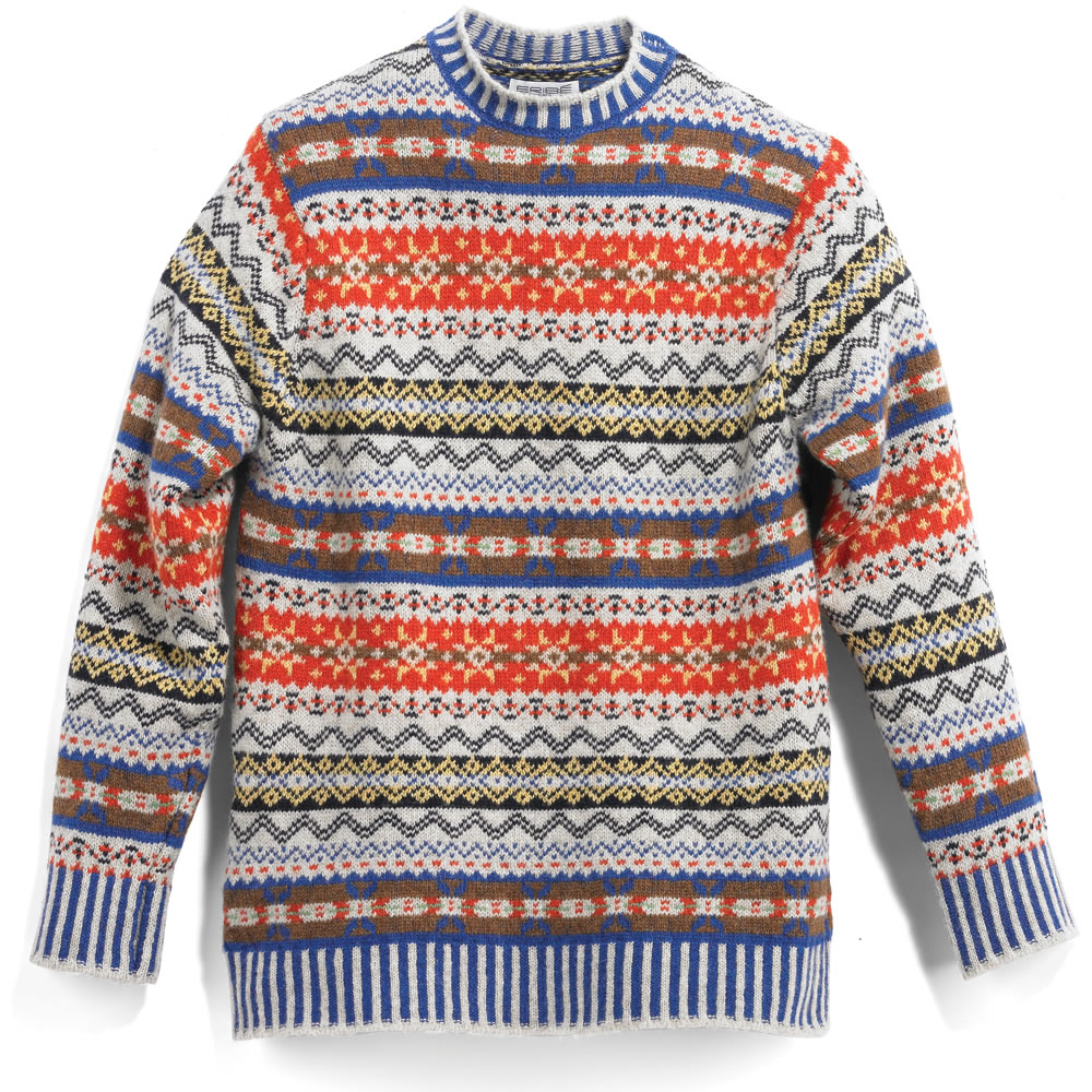 Patterned Sweaters Men | Fair Isle Sweater | Fair Island Sweater