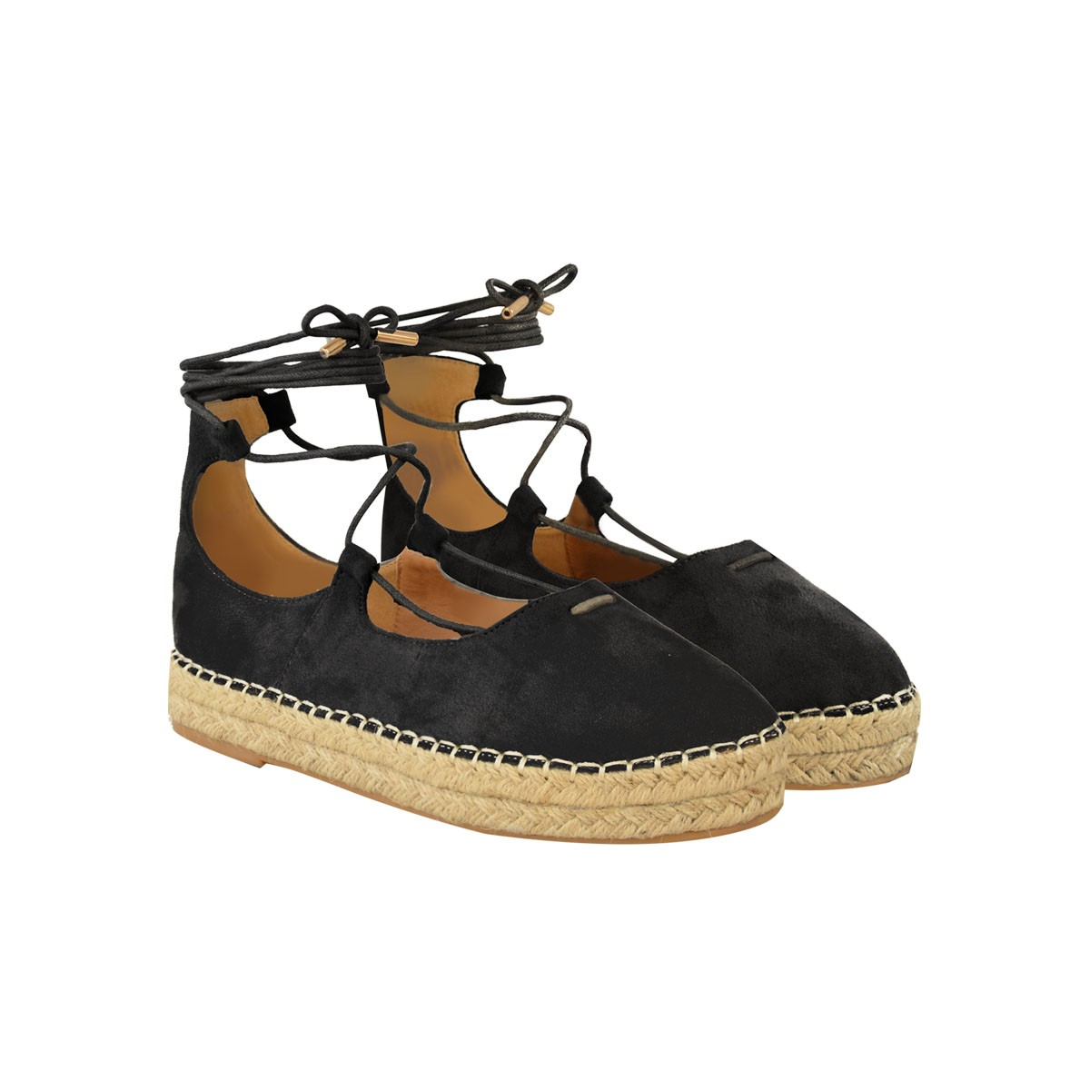 Peep Toe Espadrille Wedge | Tie Up Espadrilles | Espadrilles Tie Up