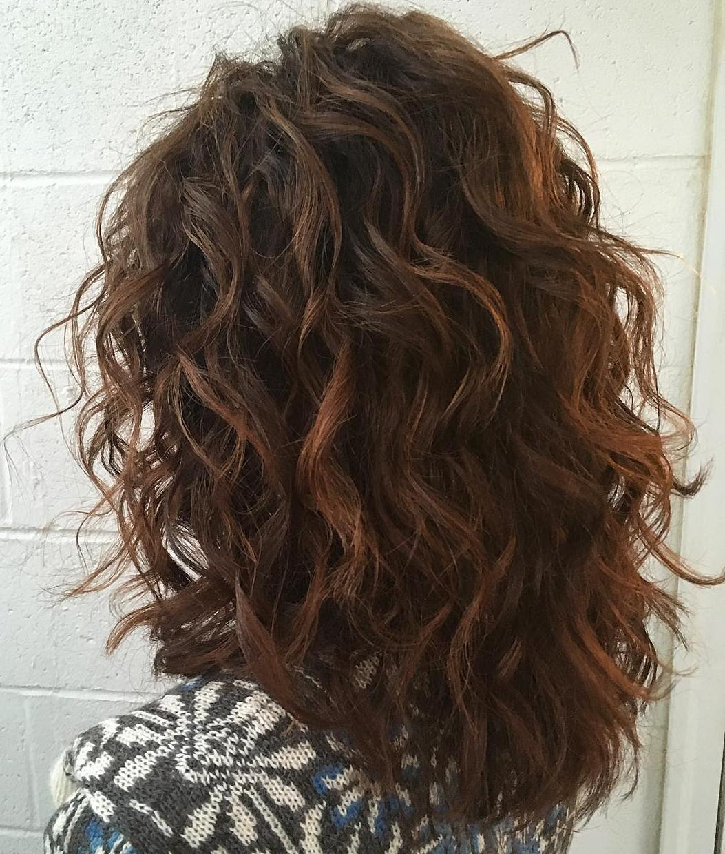 Pictures of Curly Hair | Natural Hair Bangs | Layered Curly Hair