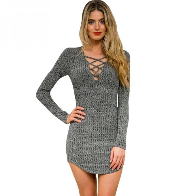 Plunging Neckline Dress | Plunge Neckline Prom Dress | Dress With Plunging Neckline