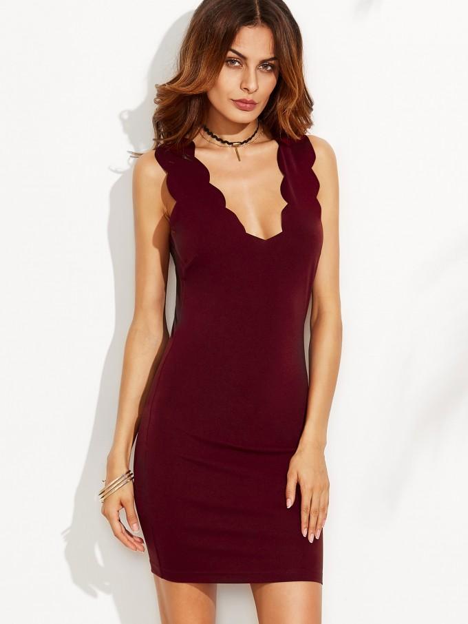 Plunging V Neck Prom Dress | Plunging Neckline Dress | V Neck Low Cut Dresses